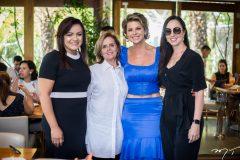 Suely Vasconcelos, Nira Camilo, Ana Cristina Wolf e Carolina Leite