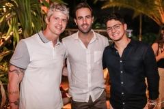Estevan Campos, Victor Frota e Otávio Queiroz