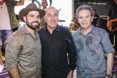 Felipe Rocha, Silvio Frota e Cláudio Rocha