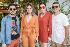 Igor Dantas, Rafa Eleotério, Karla Alexandrina e Pedro Silva