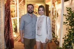 Inácio Guedes e Cláudia Brasil
