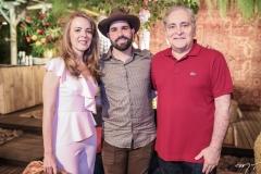 Karísia Pontes, Felipe Rocha e Luis Pontes