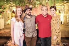 Karísia Pontes, Felipe Rocha, Luis Pontes e Paulinha Sampaio
