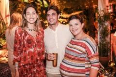 Krysten Keller, Ney Rocha e Artemísia Sampaio