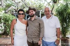 Márcia Travessoni, Felipe Rocha e Fernando Travessoni