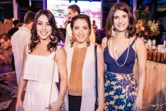 Natália Ferreira Gomes, Lia Bandeira e Larissa Luz