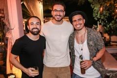 Victor Cavalcante, Bernardo Santana e Ivo Brown