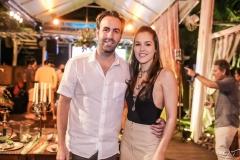 Victor Frota e Daniela Eloy