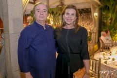 Fabio Rocha e Sandra Pinheiro