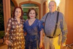 Itala Ventura, Marly Nogueira e Edson Ventura