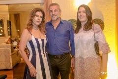 Karla Nogueira, Carlos Frace e Manoela Nogueira