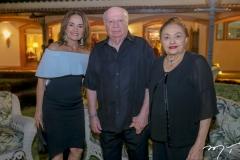 Maria Claudia,Claudio e MMarlis Figueredo