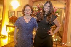 Marly e Carolina Nogueira