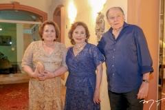 Norma Goyanna, Marly Nogueira e Silvio Goyanna