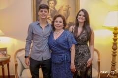 Paulo,Marly e Beatriz Nogueira