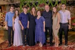 Rafael Nogueira, Manoela RolimLeonardo, Rosely ,Marly e Aroldo Nogueira,Manoela Melo e Rodrigo Nogueira (2)