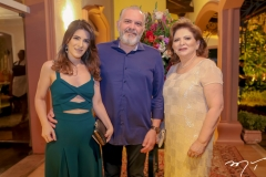 Samia , Virgilho e Lurdes Pinheiro