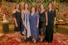 Silvana,Karla,Marly,Patricia e Rosely Nogueira
