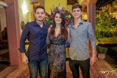 Vagner Mourão, Beatriz e Paulo Nogueira