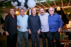 Alfredo Bachar, João Leite, Silvio Frota, Fernando Saboya e Rui Dias