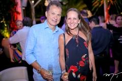 Carlos Pimentel e Denise Pinheiro