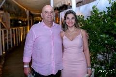 Claudio e Samara Milério