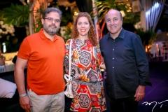 Edson Neto, Ticiane Queiroz e Silvio Frota
