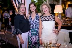 Jacqueline Mota, Cristine Basto e Marcia Sanford