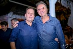 Julio Ventura e João Cateb Melo