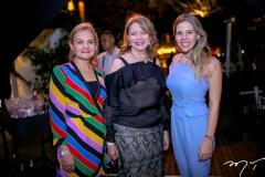Lenise Rocha, Marfisa Ximenes e Sofia Laprovitera