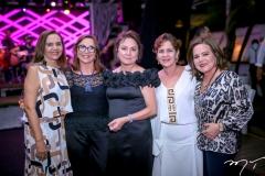 Lúcia Rocha, Lúcia Wolff, Paula Frota, Lilia Quinderé e Inês Porto