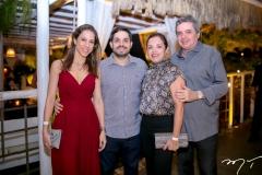 Natércia, Fernando, Elusa e Totonho Laprovitera