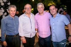 Pádua Lopes, Fernando Ximenes, Paulo César Norões e Iuri Veras