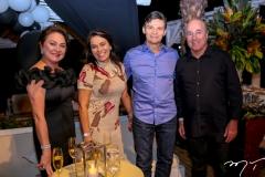 Paula Frota, Margarida Alves, Max Bezerra e Silvio Frota