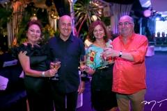 Paula e Silvio Frota, Fátima e Murilo Belchior
