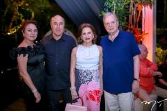 Paula e Silvio Frota, Renata e Tasso Jereissati