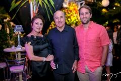 Paula ,Silvio e Rodrigo Frota