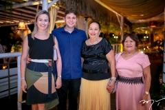 Rebeca e Diogo Silva, Xanoa Pascoal e Aurenice Soares