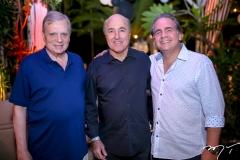 Tasso Jereissati, Silvio Frota e Ricardo Bacelar