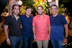 Thomáz Frota, George Vieira, Rodrigo e Alexandre Frota
