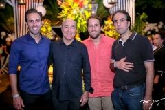 Vitor, Silvio, Rodrigo e Thomáz Frota