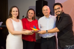 Bia, Beatriz e Lauro Fiuza e Vinícius Machado