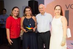 Beatriz Fiuza, Márcia Travessoni, Lauro e Bia Fiuza