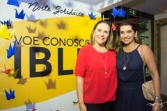 Beatriz Fiuza e Márcia Travessoni