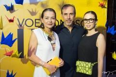 Camila Freitas, Jorge e Bia Soares