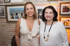 Cláudia Cavalcante e Regina Viana