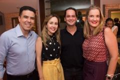 Nizabro e Carol Fujita, Marcelo e Malu Miranda