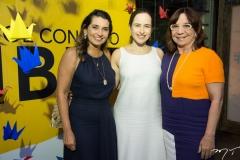 Márcia Travessoni, Bia Fiuza e Lúcia Wolf
