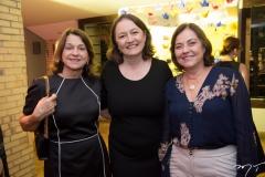 Tereza Andrade, Fabrícia Abrante e Ana Maria Studart