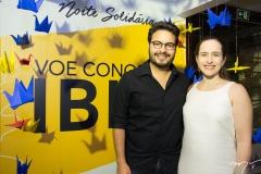 Vinicius Machado e Bia Fiuza